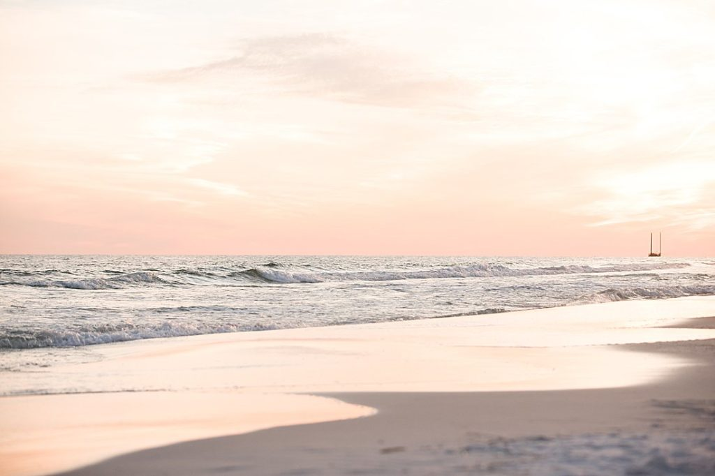 beach sunset_petite magnolia photography
