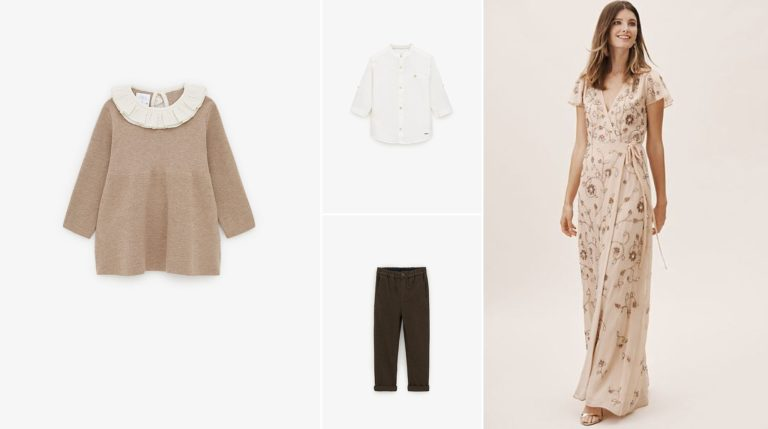 styleboard for mom & children by petite magnolia photography