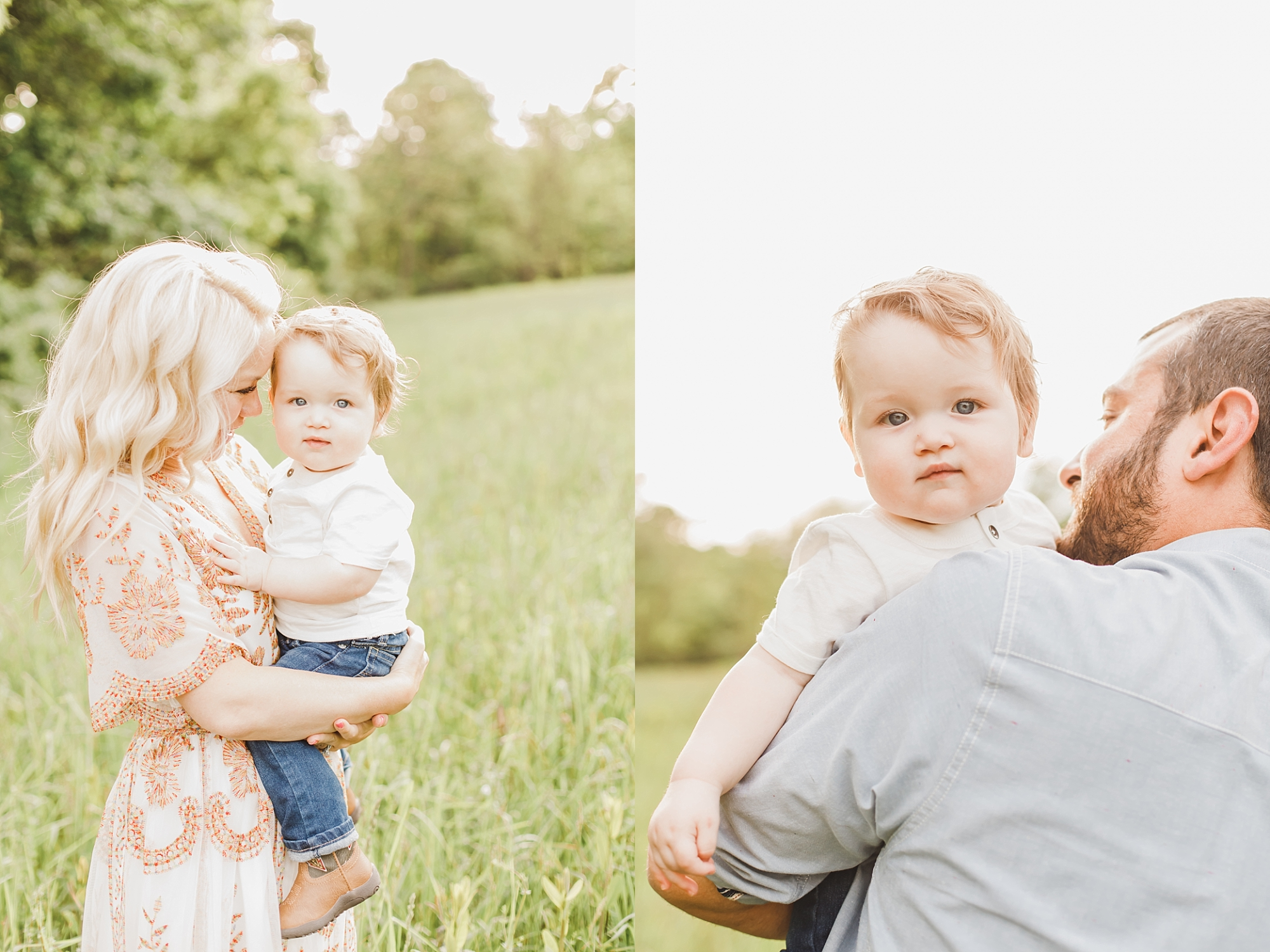 Milestone family session