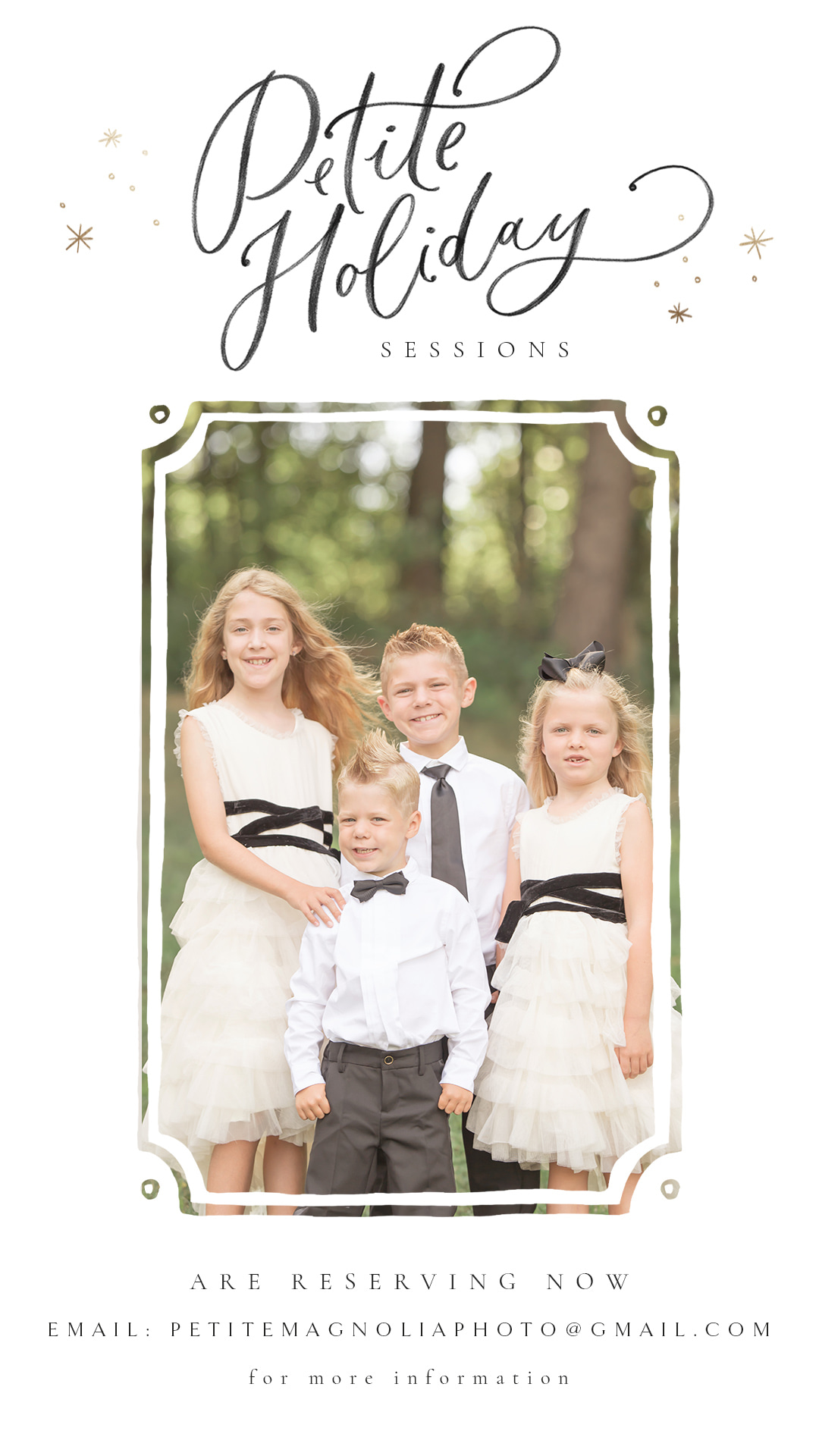 Petite Holiday Sessions