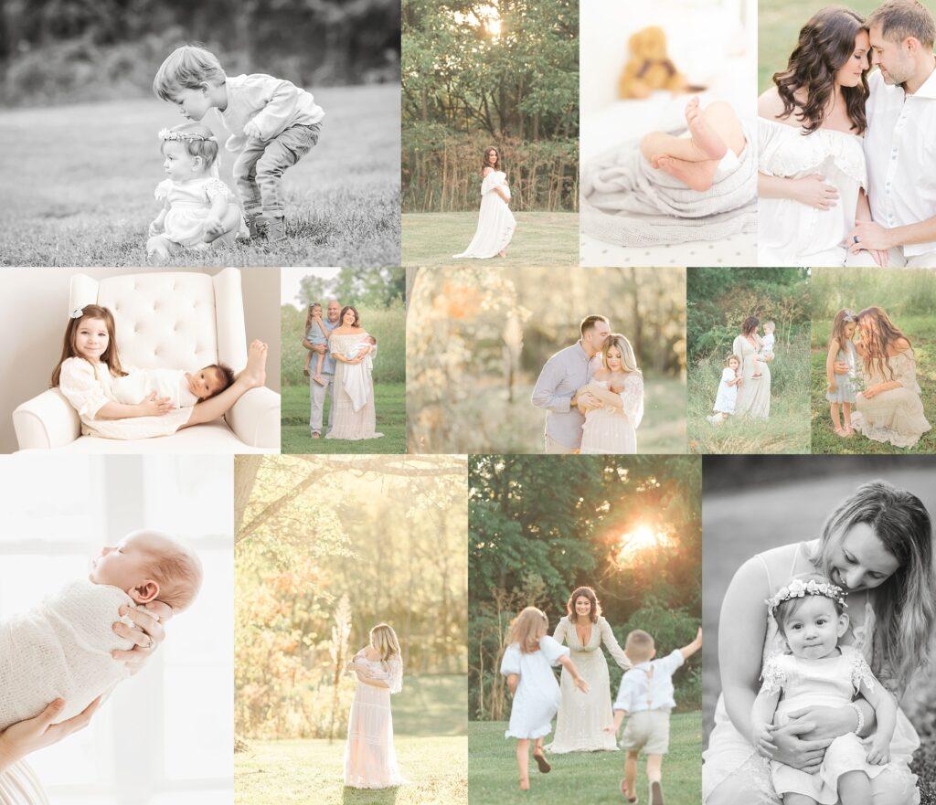 Pittsburgh Family And Newborn Photographer