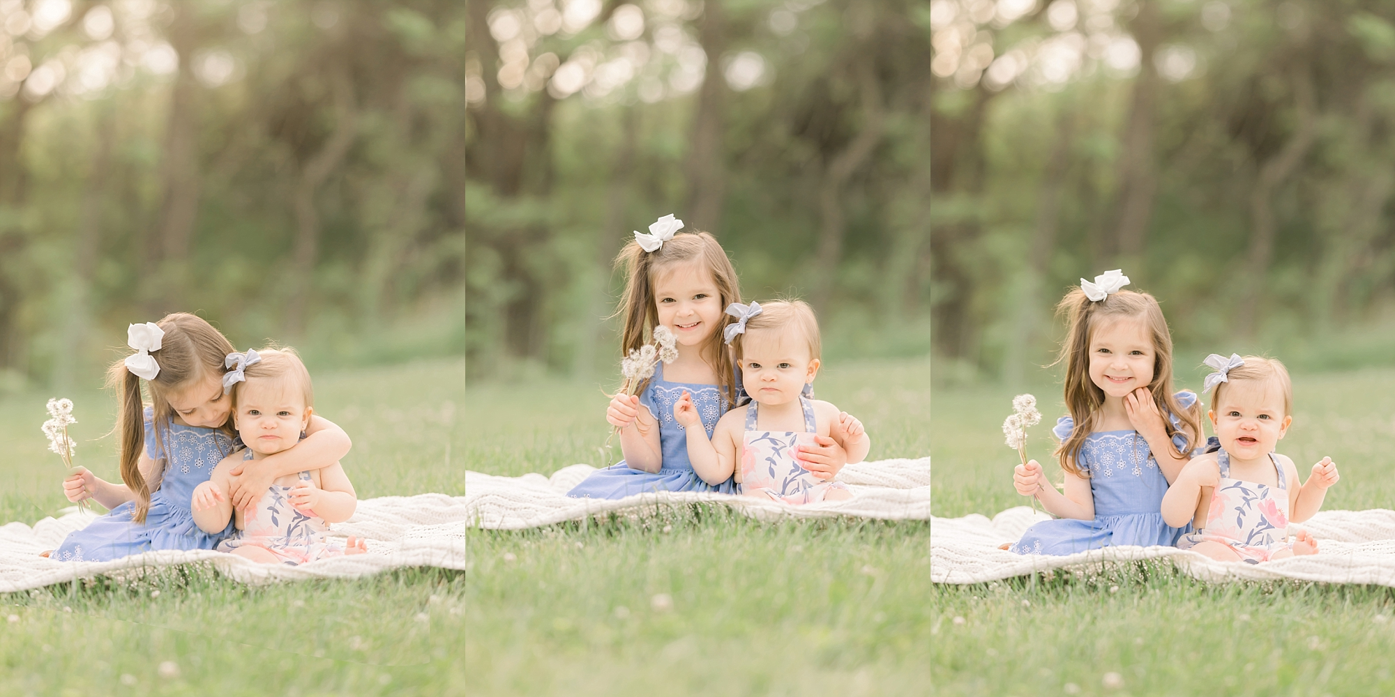 Pittsburgh outdoor family photos of sisters