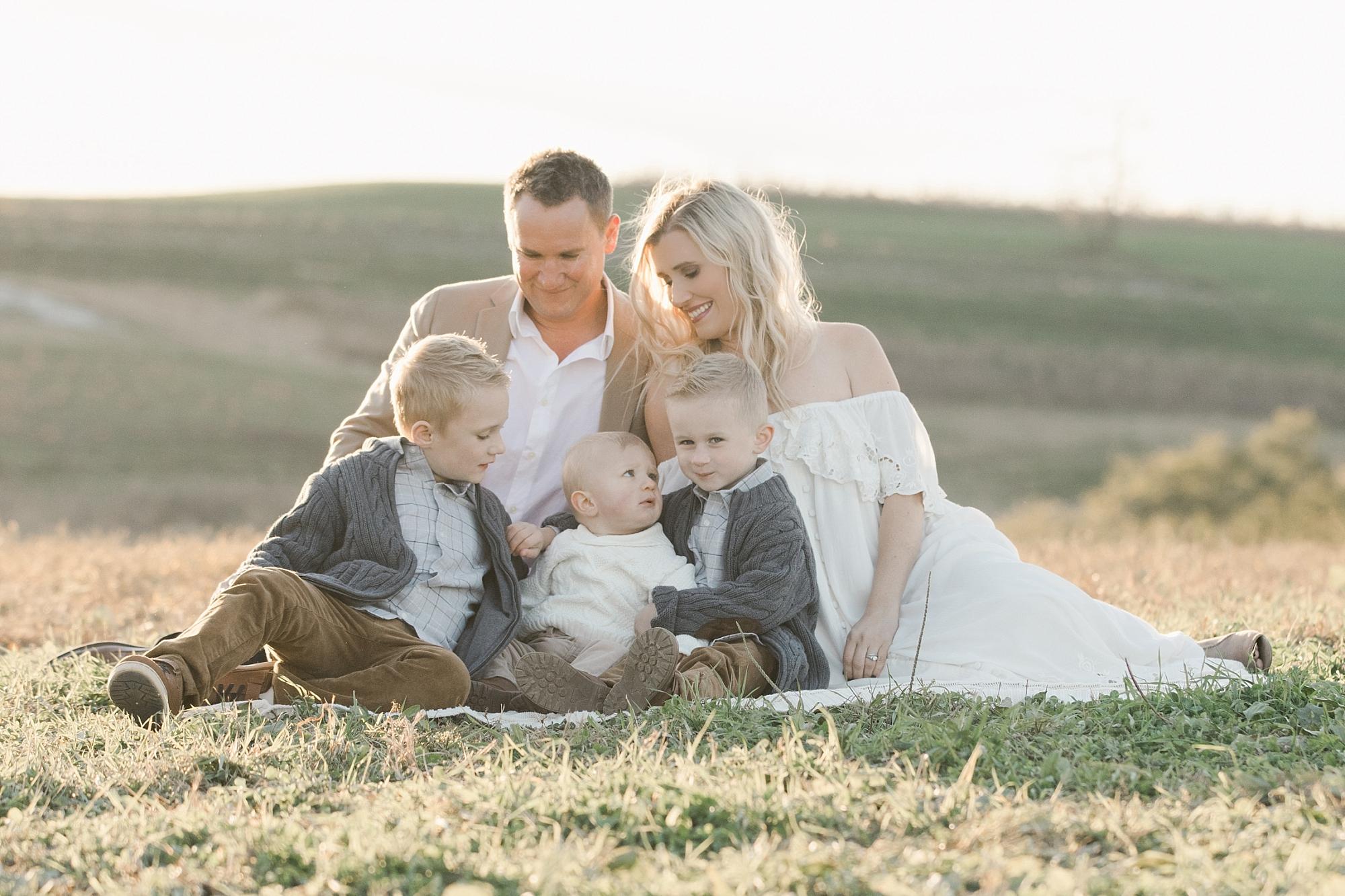 Outdoor Fall Family Photos